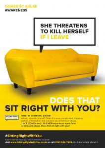 Domestic Abuse - A4 Poster - VICTIMS 6